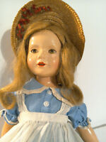 "Vintage 1930's 21"" Effanbee Composition Dewees Cochran American Child Doll"