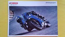 Yamaha Supersport R1M R1 YZF R6 R3 motorcycle sales bike brochure 2018 MINT NEW