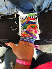 Silicone Black Lives Matter Awareness And Support Wristbands Bracelets