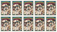 (10) 1989 Topps K-Mart Dream Team Baseball #1 Mark Grace Lot Cubs