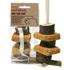 Rosewood Naturals GNAW STONE STACK for Small Animals