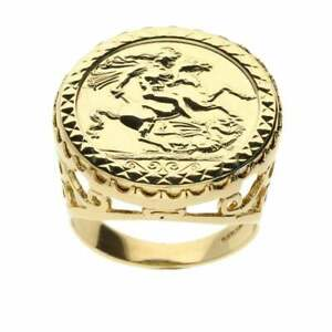9ct Yellow Gold St Georges Ring