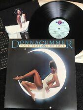 Donna Summer - Four Seasons Of Love (Winter Melody) Vinyl LP CALENDAR/Poster EX