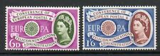 GB 1960 Europa Telecoms unmounted mint set of stamps