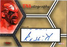 TNA Rellik 2008 Impact SILVER Authentic Autograph Card DWC