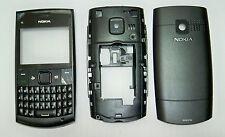Black housing cover fascia facia faceplate case for Nokia x2-01 black housing