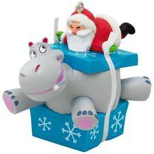 Hallmark 2017 I Want a Hippopotamus for Christmas Magic Ornament