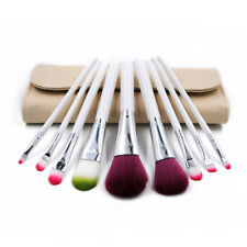 9Pcs Pro Makeup Brushes Powder Eyebrow Kabuki Brush With Bag Cosmetic Tool