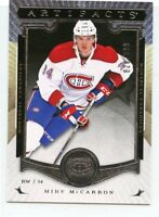 15/16 UPPER DECK ARTIFACTS ROOKIE RC #218 MIKE MCCARRON /899 CANADIENS *45031