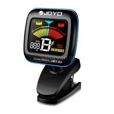 JOYO Portable Guitar Tuner Metronome Digital Tuner Clip Mic for Guitar C0P2