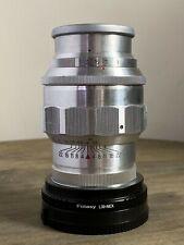 Jupiter-11 135mm f/4 SLR L39 w/L39-NEX adapter for Sony E mount USA SELLER