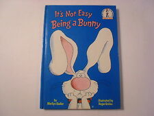 It's Not Easy Being a Bunny, Marilyn Sadler, Roger Bollen, 1st Edition, 1983