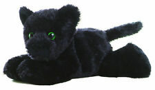 "Aurora Mini Flopsie Onyx Black Panther 8"" Stuffed Plush New 16653"