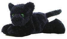 "Aurora Mini Flopsie Onyx Black Panther 8"" Stuffed Plush New 16653"