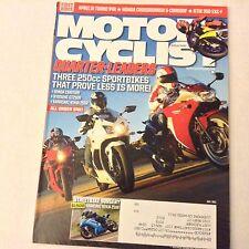Motor Cyclist Magazine Honda CBR Hyosung Kawasaki July 2011 061517nonrh