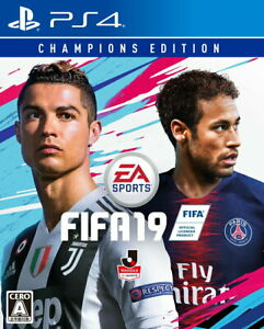 FIFA 19 Champions Edition Sony PS4 Video Games From Japan Tracking NEW