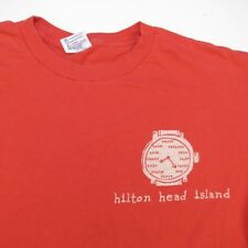 I'M ON ISLAND TIME HILTON HEAD SOUTH CAROLINA TEE T SHIRT Sz Mens M