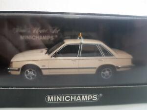 MINICHAMPS Opel Senator - Taxi (1980) - M 1:43 - neu in OVP