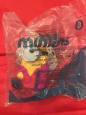 2015 McDonalds MINIONS - TALKING GROOVY MINION Figure Toy #8 NIP Happy Meal
