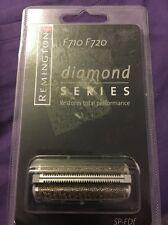 Paquete De Lámina Afeitadora Remington Diamante Serie Sp-pesquerías plenamente documentadas para F710 y F720 Nuevo y Sellado