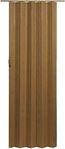 """New ,Size24"""" to 36"""" x 80"""" Accordion Folding Door, Oak Color,Durable Folding Door"""