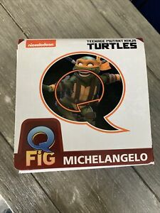 Teenage Mutant Ninja Turtles Michelangelo Q-Fig Diorama Figure