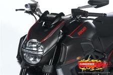 Ilmberger MATT Carbon Fibre Headlight Cover Surround Ducati Diavel 1200 2013