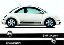 VW Volkswagen Beetle Wolfsburg bandes latérales Graphics Decals Autocollants TOUTE COULEUR
