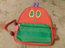 World of Eric Carle Very Hungry Caterpillar Canvas Red Green Backpack Apple pull