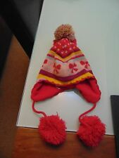 H&M Knitted pom pom trapper 6-8 years