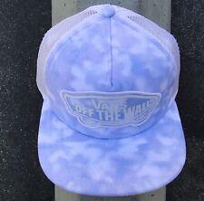 Vans Beach Sky Blue Trucker Mens Unisex Skate Snapback Hat