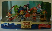 Disney Captain Jake And The Never Land Pirates Christmas Ornament Figure 7pc New
