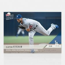 2018 TOPPS NOW #437 HISTORIC ERA THROUGH 2,000 INNINGS PITCHED - CLAYTON KERSHAW