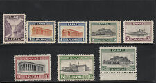 Greece 1931-1935 Landscapes II complete set MNH