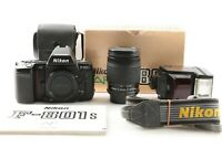 """EXC+5 w/ BOX"" NIKON F-801s 35mm Film SLR + Nikkor 28-80mm Lens + SB-22s Flash"