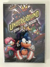 Sonic Underground Sonic to the Rescue DVD New Sealed