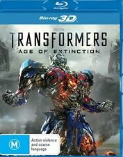 Transformers 4: AGE OF EXTINCTION : NEW Blu-Ray 3D