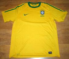 Camiseta Nike Brasil 2010/2011 Home (tamaño L)