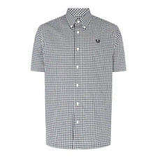Fred Perry Fred 2Cl LS Gingham Shirt Mens  SIZE XS REF C2702*