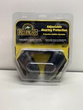 New Red Head Adjustable Hearing Protection Nrr 23