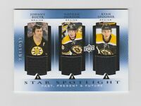 Bucyk Horton Spooner 2013-2014 UD Past Present Future Star Jsy #PPF-BEES