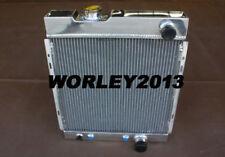 3 rows aluminum radiator for Ford Mustang 1964 1965 1966 passenger outlet