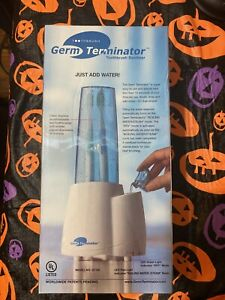 New Toothbrush Sanitizer Germ Terminator GT100 Oral Brush Cleaner Open Box