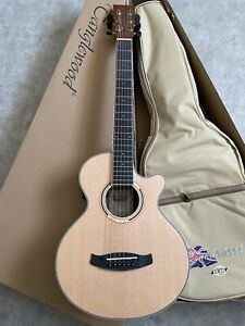 Travel Electro Acoustic Guitar RRP £249  with tuner preamp Gig bag 3/4 size