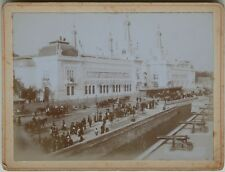 Exposition universelle Paris 1900 France Photo Vintage Citrate