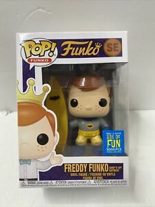 Funko Pop! Freddy Funko Surf's Up! Batman 2019 Box of Fun Funko Excl 5000 LE