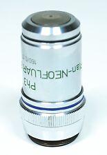 Zeiss Ph3 46 18 37 Plan-NEOFLUAR 63/1.25 Oil 160/0.17 Microscope Objective Lens