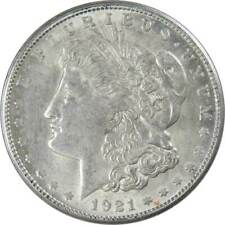1921 S Morgan Dollar AU About Uncirculated 90% Silver $1 US Coin Collectible