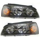 Headlight Set For 2004 2005 2006 Hyundai Elantra Left and Right With Bulb 2Pc