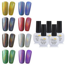 Ukiyo Soak Off UV LED Nail Gel Polish Rainbow Series 8ml need Base & Top Coat